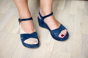Welcher Fuß ist hübscher?